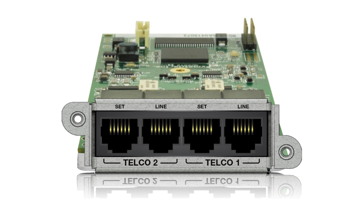 2 Line Analog Telephone Interface Card