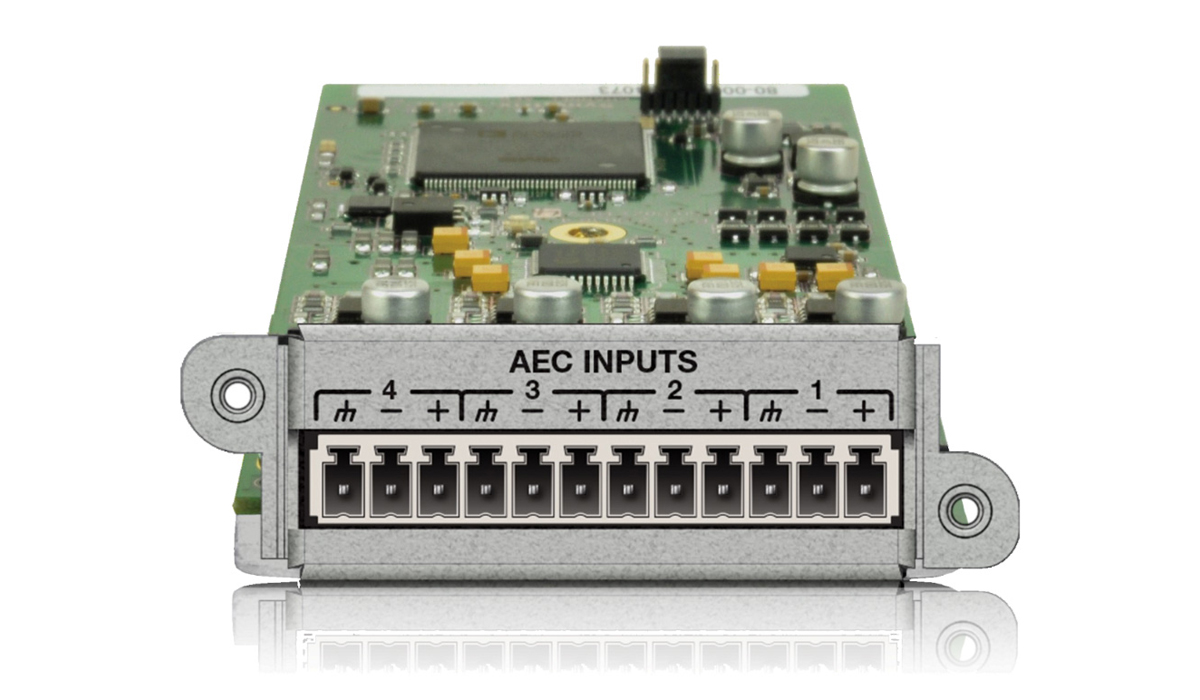 4 Channel AEC Input Card