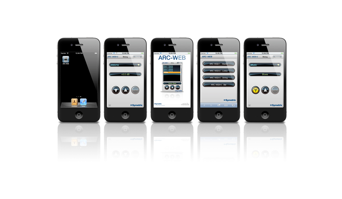 ARC-WEB Browser Interface