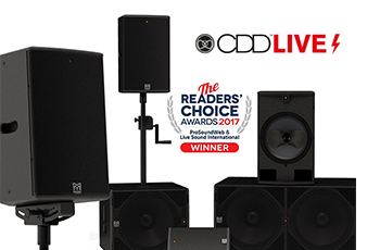 Martin Audio CDD-LIVE!シリーズ